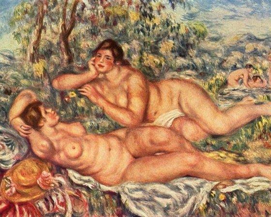 As Banhistas, Renoir