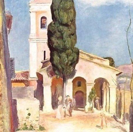 A Igreja de Cagnes, Renoir
