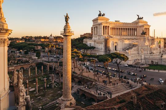 O que é Coluna de Trajano?