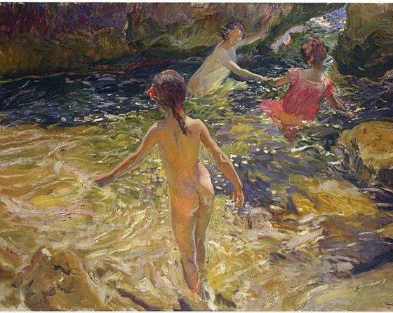 O Banho, Jávea, Sorolla