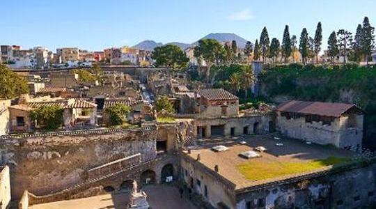 Herculano – outra vítima do Vesúvio – Itália
