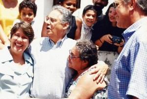 Prefeita Célia Rocha, FHC e o governador Manoel Gomes de Barros