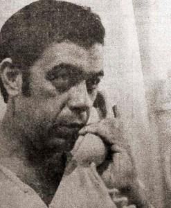 Carlito Lima dá entrevista para jornais do sul do país em 5 de maio de 1979