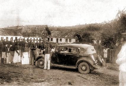 Integralistas na Usina Uruba, em Atalaia, no dia 15 de agosto de 1935