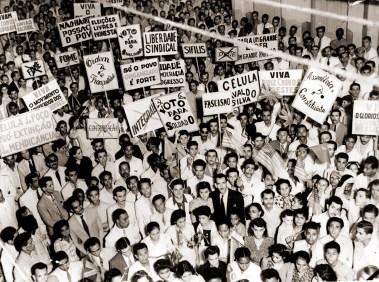 Comício de Prestes em 1946