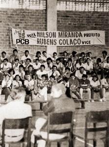 Debate entre candidatos a prefeito na Ufal em 1985