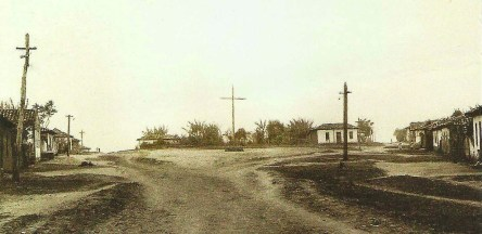 Local onde será contruída a igreja, definido em 1º de novembro de 1867