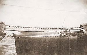 O que restou da Ponte do Salgadinho em 1949
