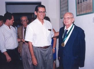 Com o professor Douglas Apratto Tenório, atual vic-reitor do Centro Universitário Cesmac
