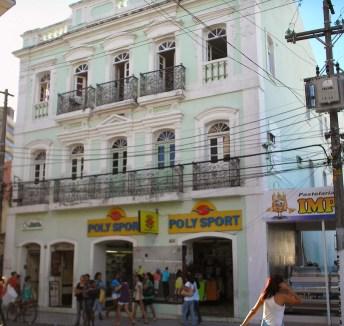 Palacete do Barão de Atalaia, na Rua Dois de Dezembro, em Maceió