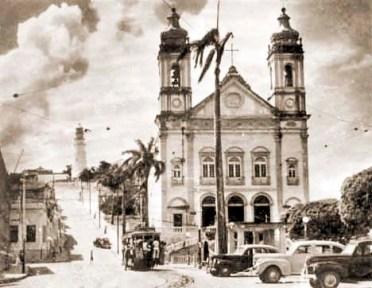 Praça D. Pedro II década de 1950