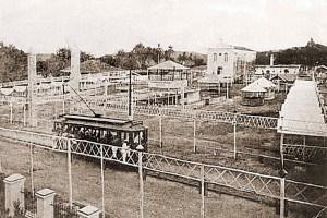 Praça da Matriz em 1906