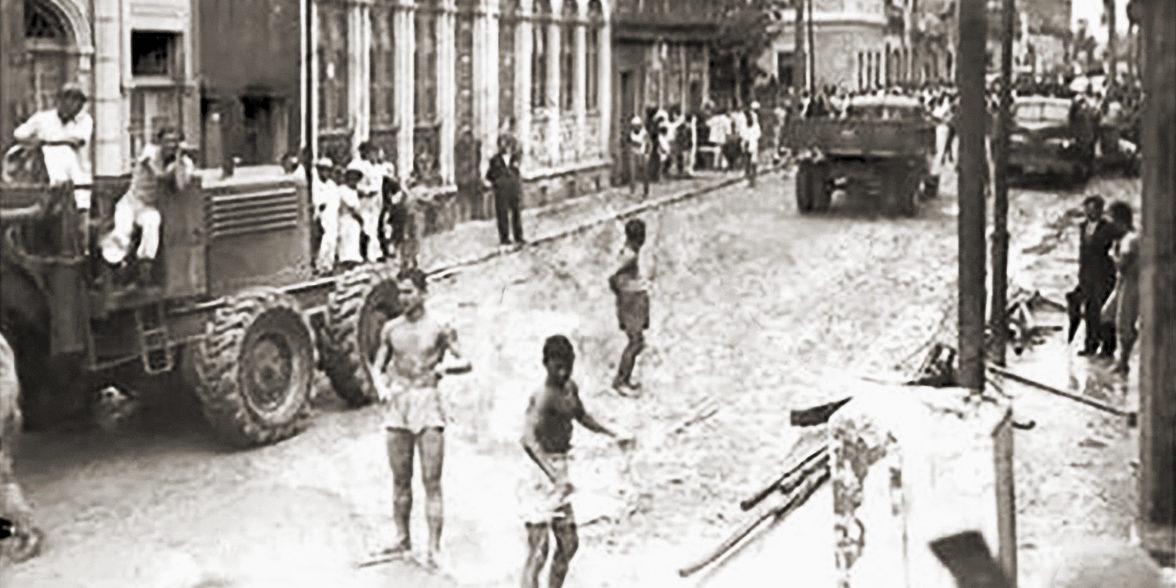A tromba d'água de 1949 em Maceió
