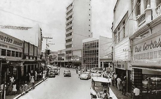 O São Luiz e a Rua do Comércio nos anos 70