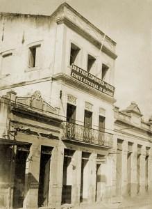 Sede do PCB em Maceió, na Rua do Comércio, onde também funcionava A Voz do Povo
