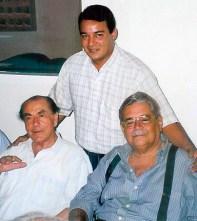 Leonel Brizola, Sérgio Corintho e Geraldo Sampaio