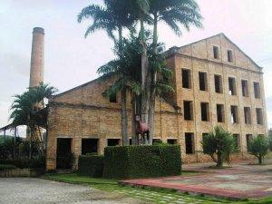 Antiga Usina Boa Sorte, em Viçosa. Hoje abriga o Haras Boa Sorte