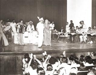 Em 1978, Edécio Lopes produziu o Festival Alagoano da Canção Nordestina. No show final, com Luiz Gonzaga e Carmélia Alves, Tororó do Rojão é o tocador de triângulo.