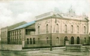 Teatro Deodoro poucos anos após o fim da sua construção