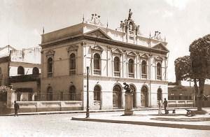 Teatro Deodoro na década de 1950