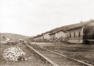 Viçosa em 1940. Trecho da Avenida Firmino Maia