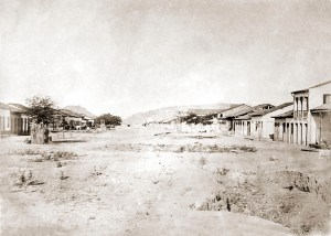 Av. Bráulio Cavalcante Pão de Açúcar em 1869. Foto de Abílio Coutinho