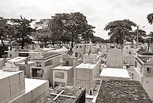 Jazigos do Cemitério de São José