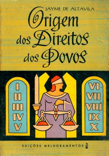 Livro mais conhecido de Jayme de Altavila