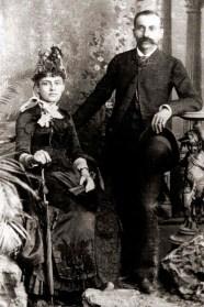 Pais de Gustavo Paiva. Antonio Pinto Guedes de Paiva e Rosalina Francisca da Silva Paiva