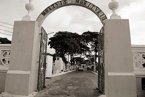Portão do Cemitério de São José