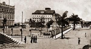 Praça D. Pedro II no final da primeira década do século XX