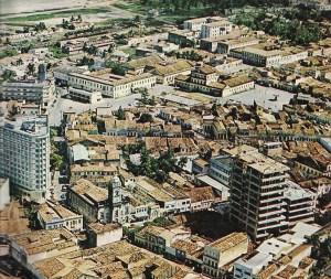 Praça da Cadeia na segunda metade da década de 1960