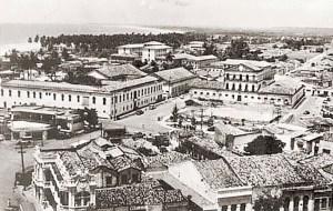 Praça da Cadeia em meados dos anos de 1960