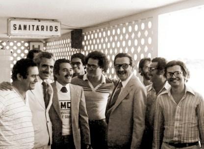 Recepção a Teotônio Vilela no Aeroporto para o ato de fundação do PMDB em dezembro de 1980