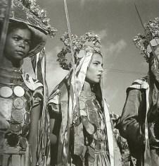 Apresentação de um Reisado em Maceió no ano de 1943