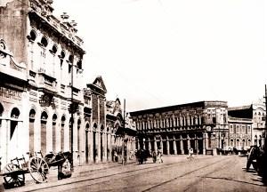Rua do Comércio nos anos 20
