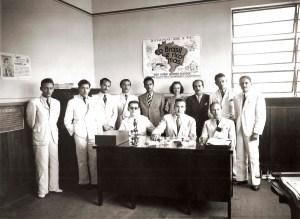Equipe do recenseamento de 1940 em Alagoas. Foto acervo do DIP, cedida por Auriberto Ticianeli