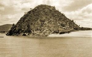 Morro do Cavalete em 1939 ainda sem o Cristo Redentor. Foto Edgar de Cerqueira Falcão