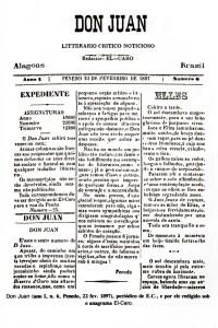 Jornal Don Juan, editado em Penedo
