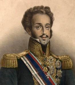 D. Pedro I. Acervo da Fundação Biblioteca Nacional