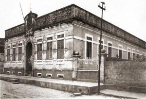 Grupo Escolar Ambrósio Lira em Passo de Camaragibe nos anos 50