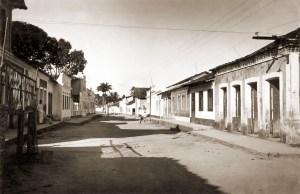Rua de Passo de Camaragibe nos anos 50