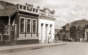 Trecho das ruas Benjamin Constant e João Pessoa em São Miguel dos Campos