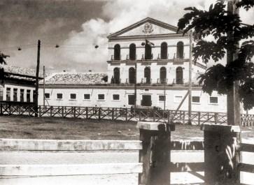 Casa de Detençao de Maceió, a Cadeia Velha, onde Mendonça Júnior ficou preso enquanto aguaardava julgamento. Foto do acervo de Audir Marinho de Carvalho