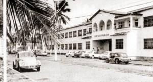 Campus Tamandaré, antiga Escola de Aprendizes Marinheiros no Pontal da Barra, em 1973