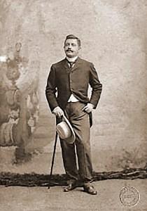 Delmiro, em foto posada de 1891