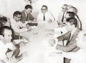 Em 1967, o Reitor A. C. Simões autorizou o início das obras do Campus da Ufal no Tabuleiro