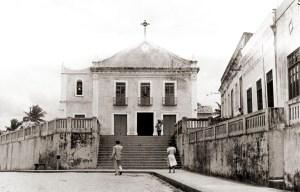 Igreja Matriz de Nossa Senhora da Apresentação em Porto Calvo, na década de 50