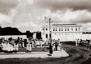 Inauguração da Praça D. Antônio Brandão, em frente ao Seminário