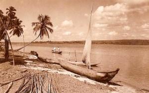 Pontal da Barra nos anos 50. Foto Stuckert
